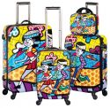 Heys Britto Collection 4 Piece Spinner Set
